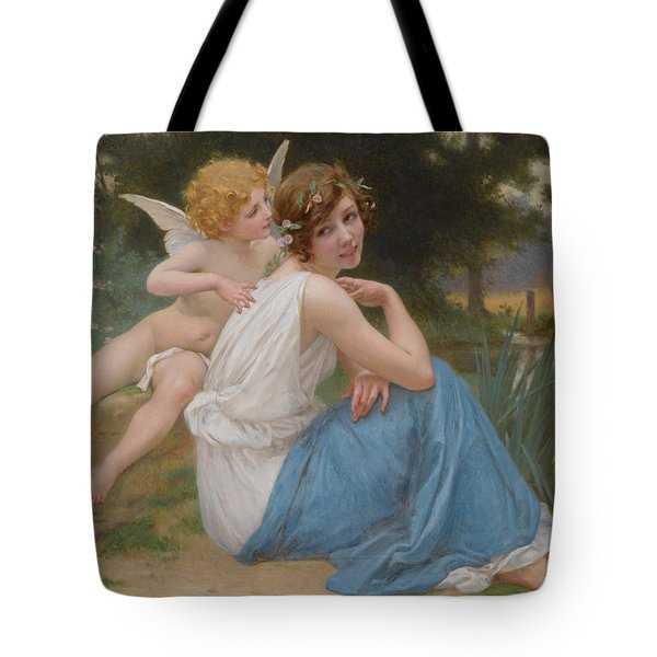 Cupid And Psyche Tote Bag
