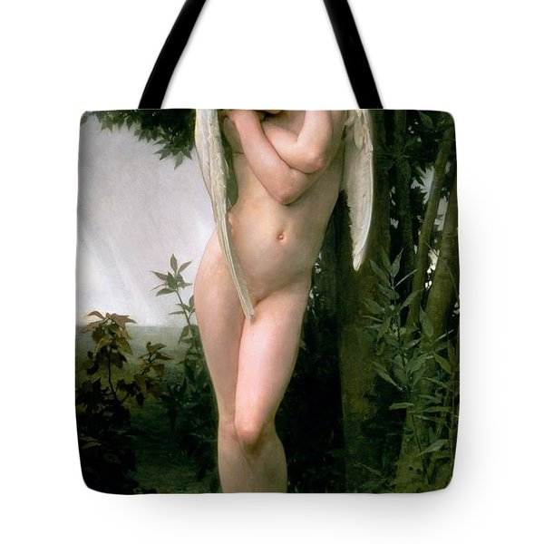 Cupidon Tote Bag by William Adolphe Bouguereau