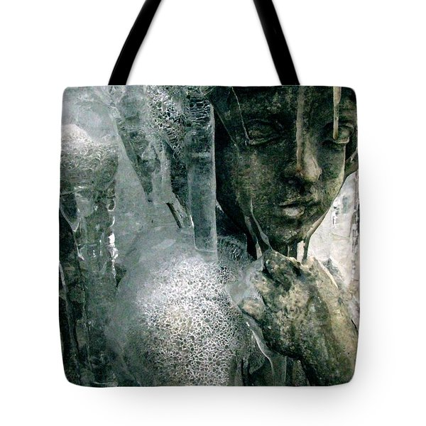 Cupid's Psyche Awaiting Zephyrus Tote Bag by Misha Bean