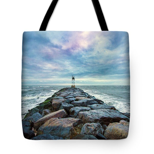 Cupsogue Clouds At Dusk Tote Bag