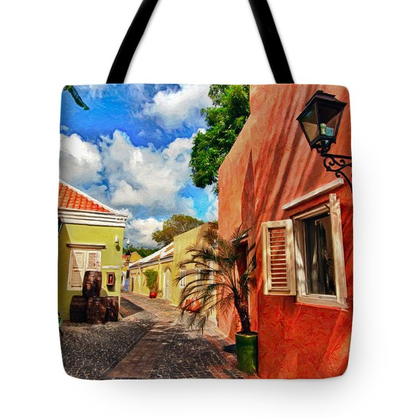 Curacao Colours Tote Bag