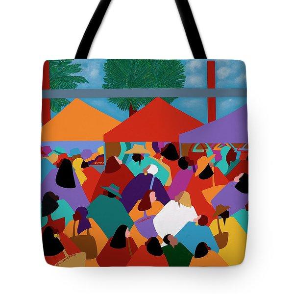 Curacao Market Tote Bag