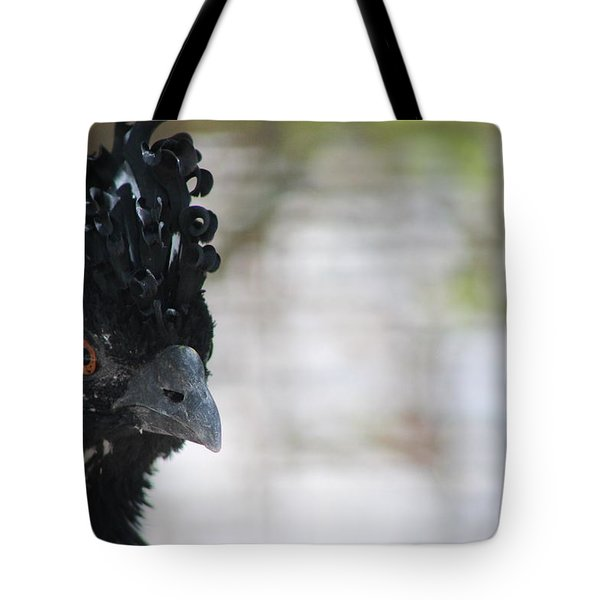 Curassow Tote Bag