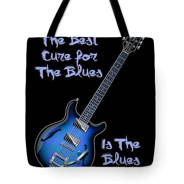 Cure For The Blues Shirt Tote Bag