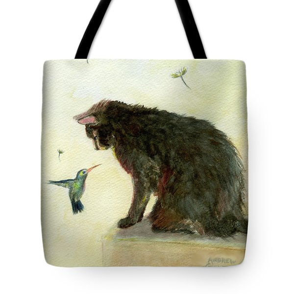 Curiosity Tote Bag by Andrew Gillette