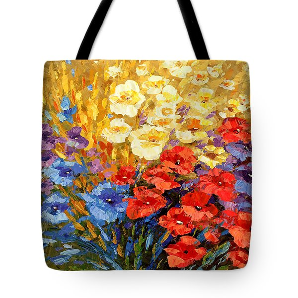 Tote Bag featuring the painting Curiously Creative by Tatiana Iliina