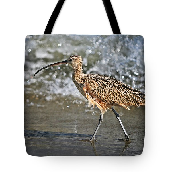 Curlew And Tides Tote Bag