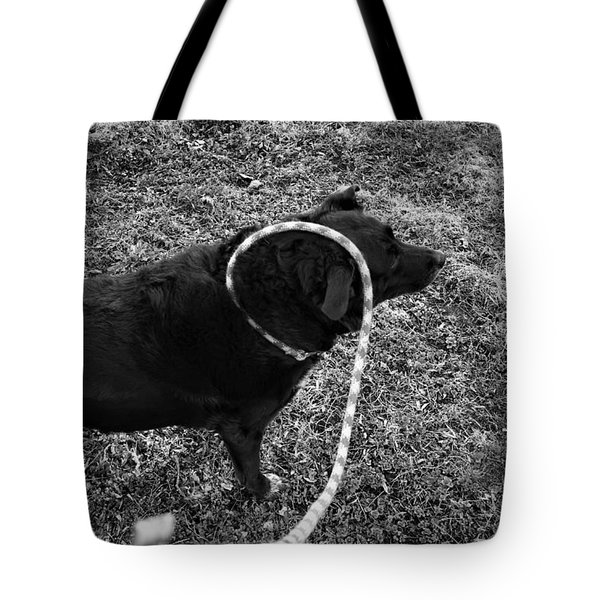 Curling Tote Bag by Jeanette O'Toole