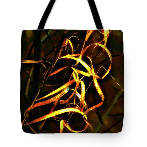 Curly One Tote Bag by Steve Harrington