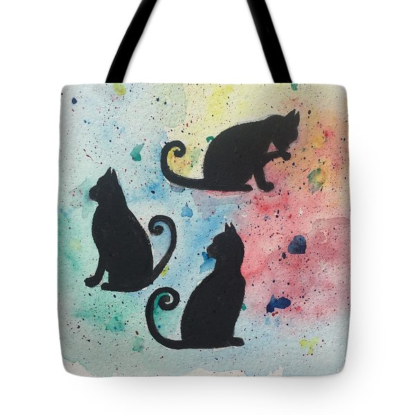 Curly Tails Tote Bag