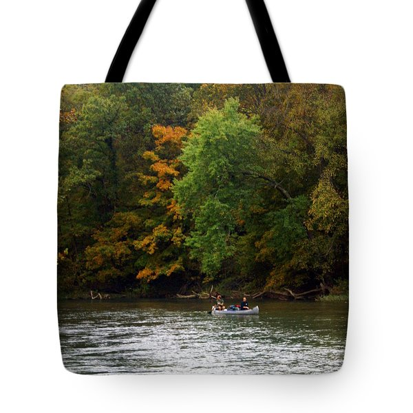 Current River 2 Tote Bag by Marty Koch