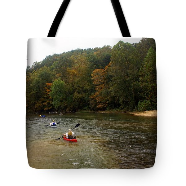 Current River 3 Tote Bag by Marty Koch