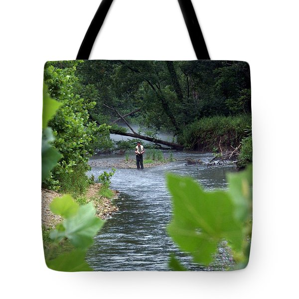 Current River 5 Tote Bag by Marty Koch