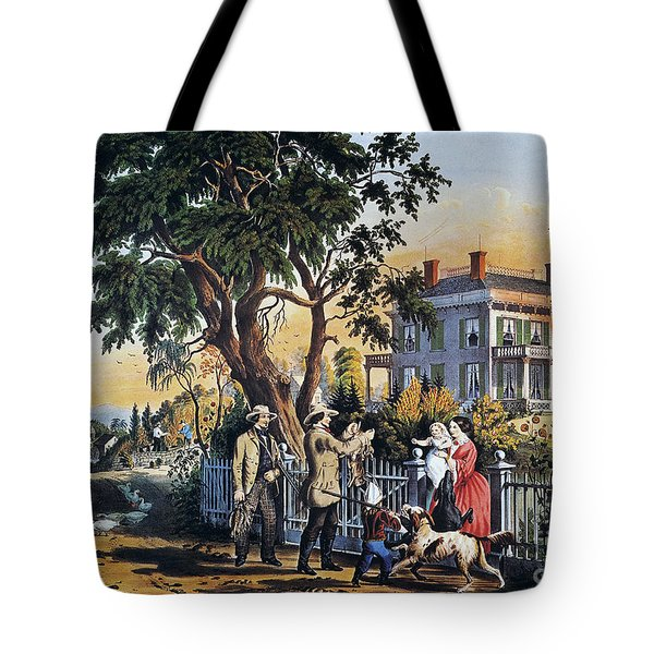 Currier: Country Life Tote Bag by Granger