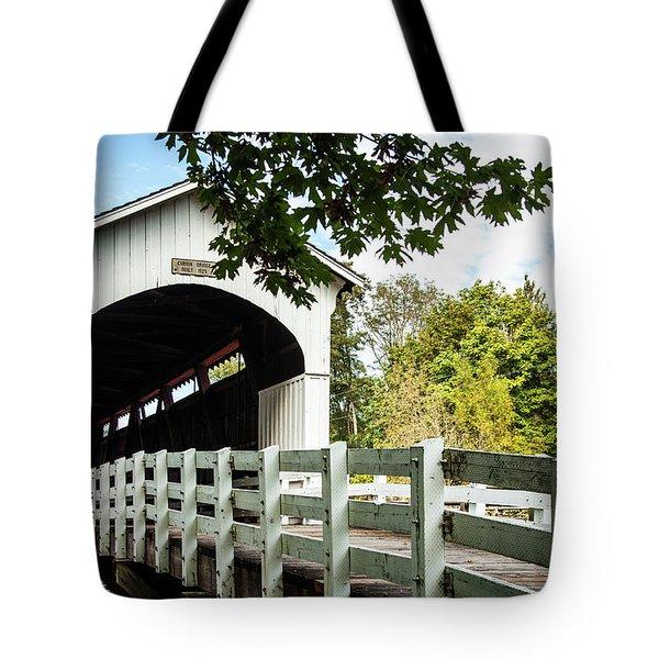 Currin Bridge Tote Bag