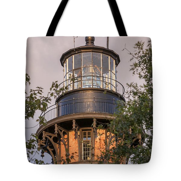 Currituck Beach Lighthouse Close-up Tote Bag