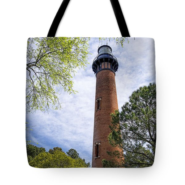 Currituck Lighthous - Corolla Outer Bank Norht Carolina Tote Bag