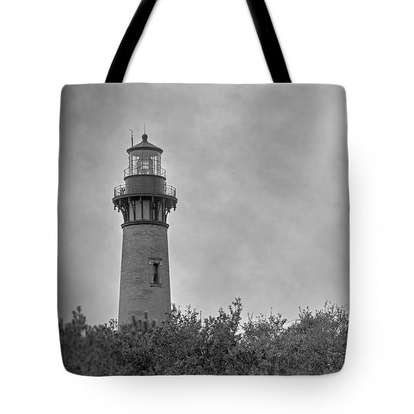 Currituck Lighthouse Tote Bag by Marion Johnson