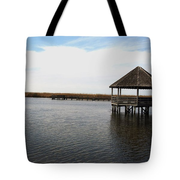 Currituck Sound Tote Bag by Kelvin Booker