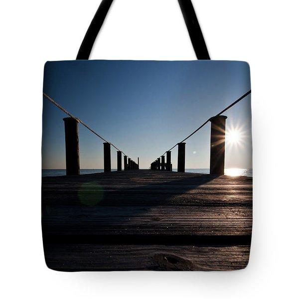 Currituck Sunset Tote Bag