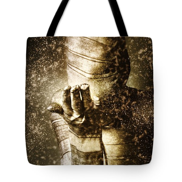 Curse Of The Mummy Tote Bag by Jorgo Photography - Wall Art Gallery