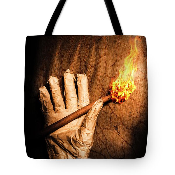 Curse Of The Tomb Robber Tote Bag