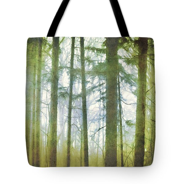 Curtain Of Morning Light Tote Bag