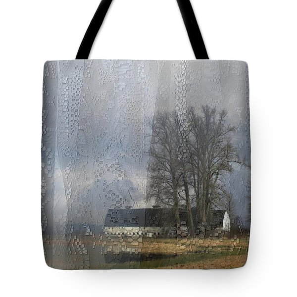 Curtains Of The Mind Tote Bag