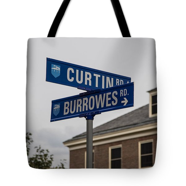 Curtin And Burrowes Penn State  Tote Bag