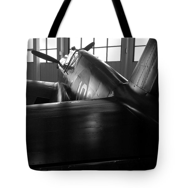 Curtiss P-40 Tote Bag by Rebecca Davis
