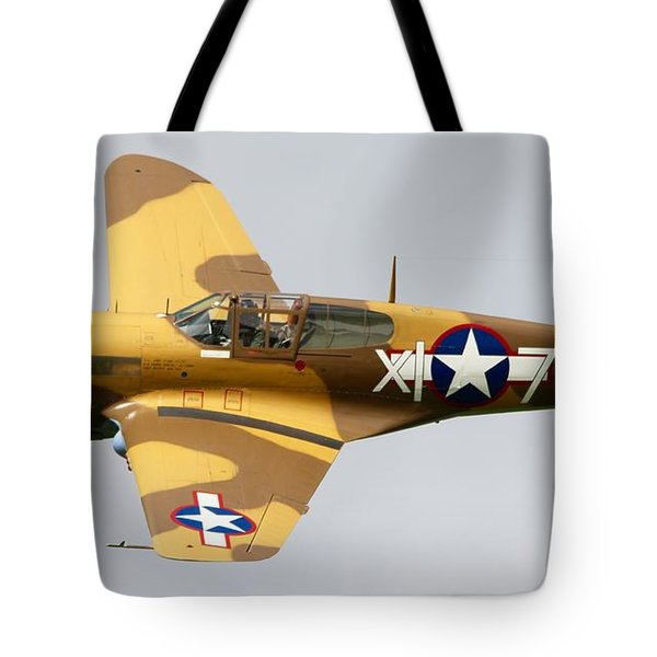 Curtiss P 40 Warhawk Tote Bag