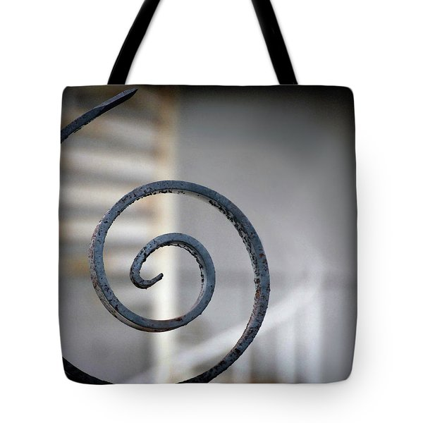 Curve Of Iron Tote Bag