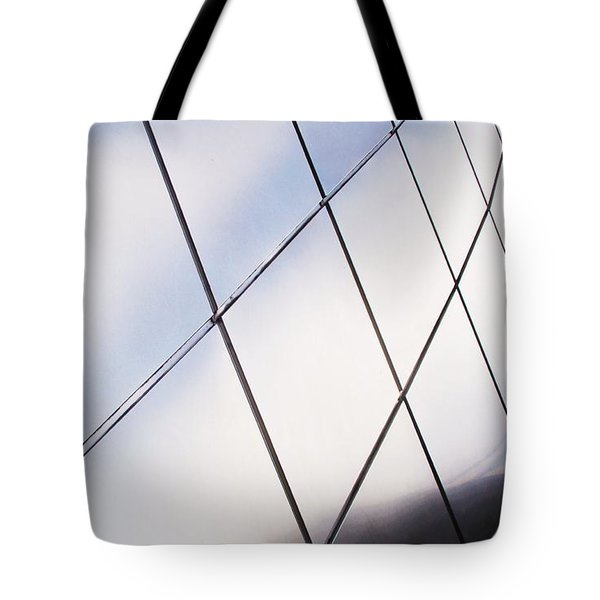 Curve Of The Cone Tote Bag by Martin Cline