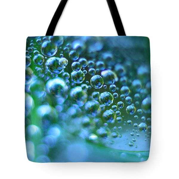 Curve Of The Web Tote Bag