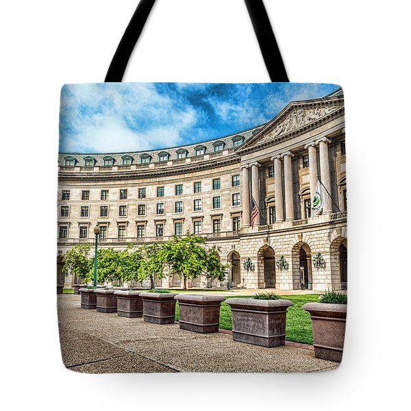 Curved Epa Tote Bag