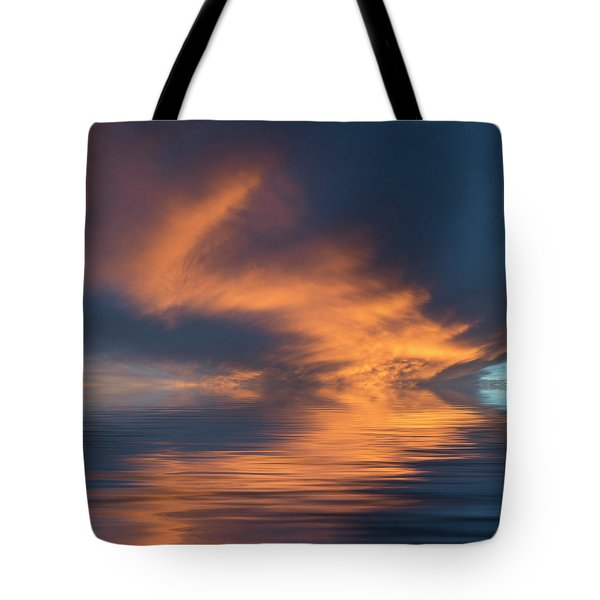 Curved Tote Bag by Jerry McElroy