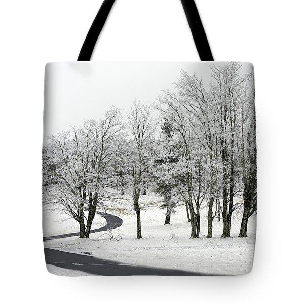 Mac Rae Field Curved Path Tote Bag