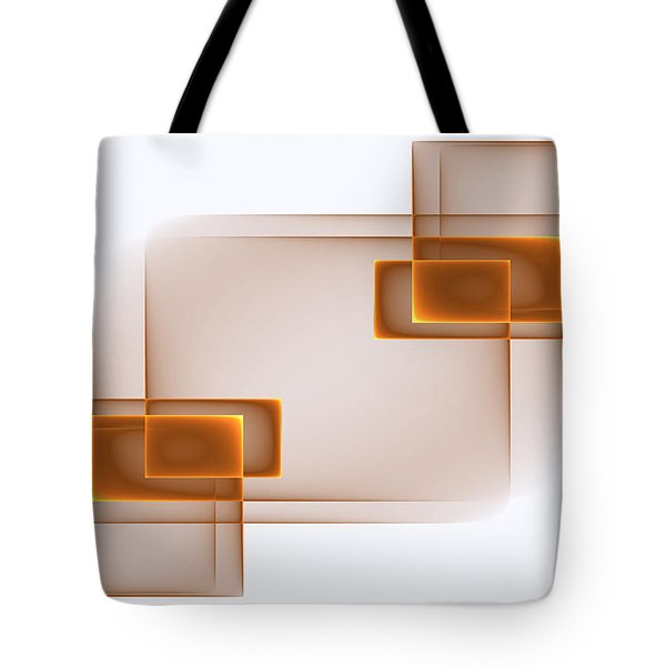 Curves Abstract 001 Tote Bag