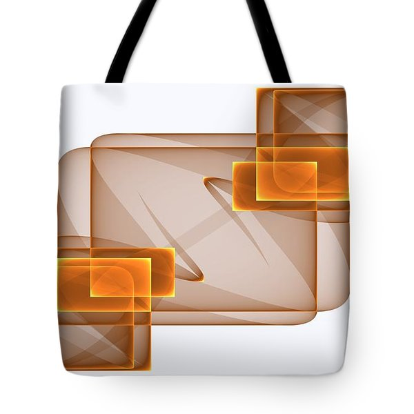 Curves Abstract 002 Tote Bag