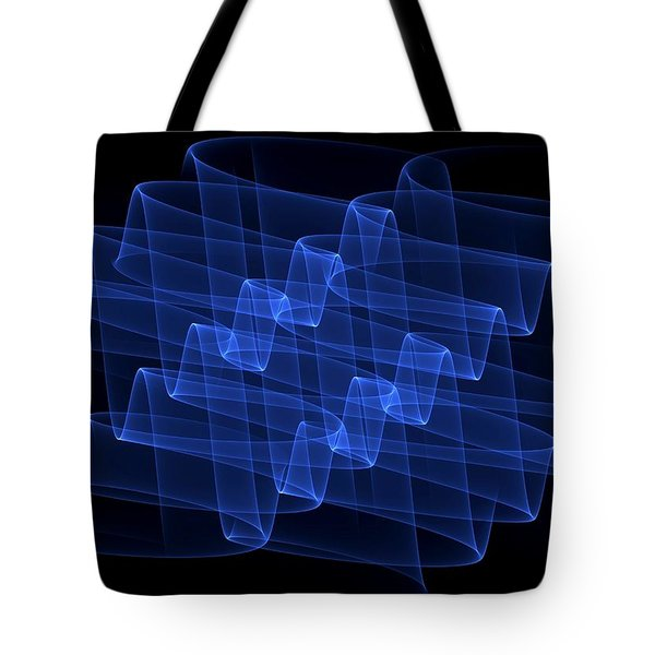 Curves Abstract 004 Tote Bag