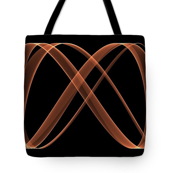 Curves Abstract 005 Tote Bag