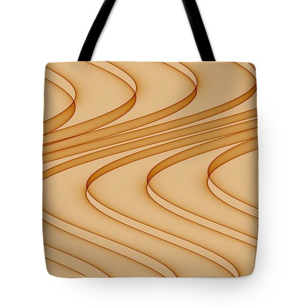 Curves Abstract 006 Tote Bag