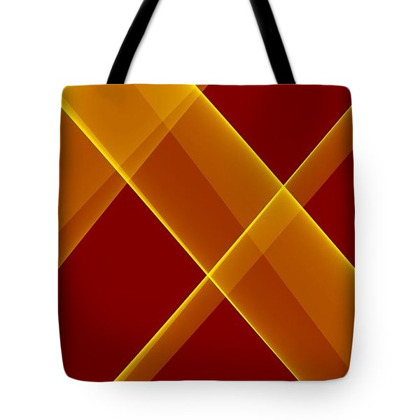 Curves Abstract 007 Tote Bag