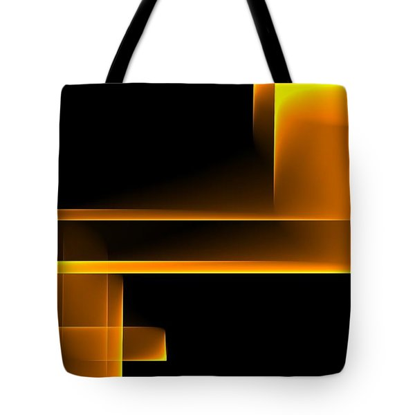 Curves Abstract 008 Tote Bag