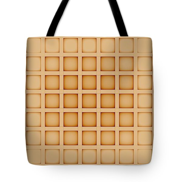 Curves Abstract 009 Tote Bag