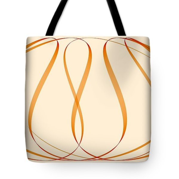 Curves Abstract 011 Tote Bag
