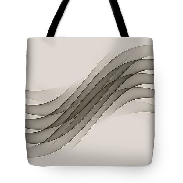 Curves Abstract 012 Tote Bag