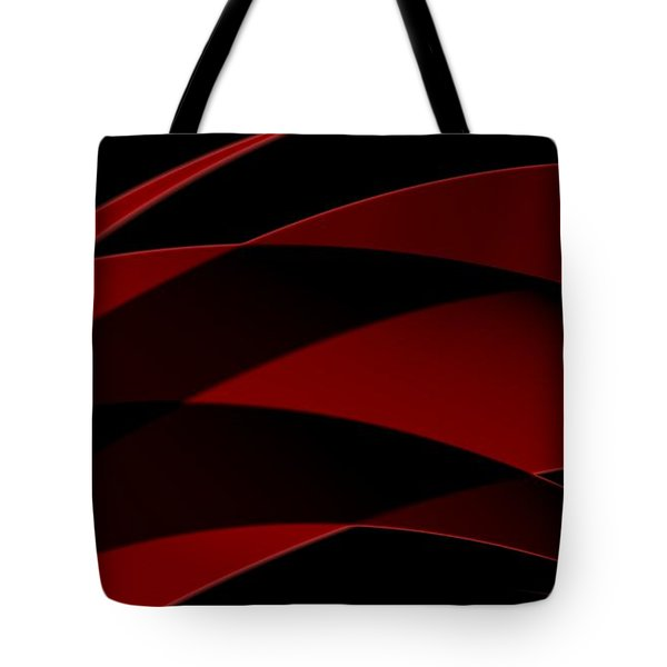 Curves Abstract 013 Tote Bag
