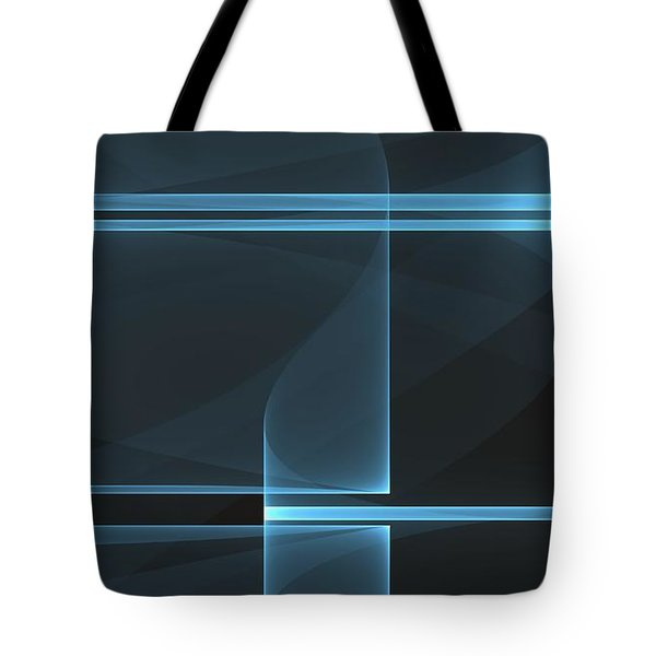 Curves Abstract 014 Tote Bag
