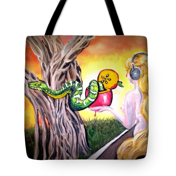 Curves Tote Bag by Alexandria Weaselwise Busen